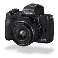 Фотокамера беззеркальная Canon EOS M50 + 15-45 IS STM Kit Black (2680C060)