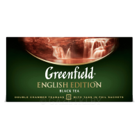 Чай черный Greenfield English Edition 25×2 г