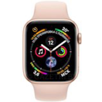 Смарт-часы APPLE Watch Series 4 44mm Gold Aluminium with Pink Sand Sport Band (MU6F2UA/A)