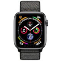 Смарт-часы APPLE Watch Series 4 44mm Space Grey Aluminium with Black Sport Loop (MU6E2UA/A)