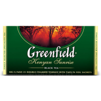 Чай черный Greenfield Kenyan Sunrise 25×2 г