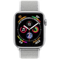 Смарт-часы APPLE Watch Series 4 44mm Silver Aluminium with Seashell Sport Loop (MU6C2UA/A)