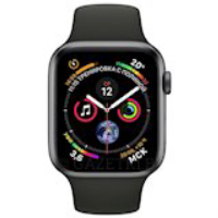 Смарт-часы APPLE Watch Series 4 44mm Space Grey Aluminium with Black Sport Band (MU6D2UA/A)