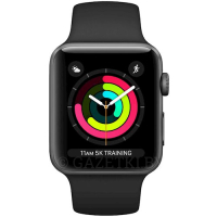 Смарт-часы APPLE Watch Series 3 GPS 42mm Space Grey Aluminum Case with Black Sport Band (MTF32FS/A)