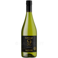 Винo Black Cat 9 Lives Chardonnay 0,75л