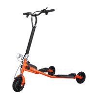 Дрифт-трайк Windtech Crazy Scooter (orange)