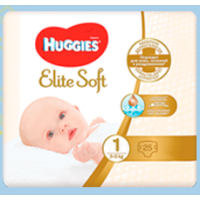 ПОДГ. ХАГИС 1 ELITE SOFT №25 (3-5) 7923 (Kimberly-Clark)