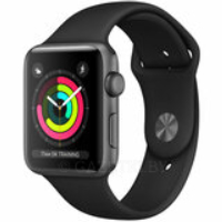 Смарт-часы APPLE Watch Series 3 GPS 38mm Space Grey Aluminium Case with Black Sport Band (MTF02FS/A)