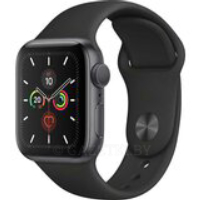 Смарт-часы APPLE Watch Series 5 GPS 40 Space Grey Alum Black Sp/B (MWV82UL/A)
