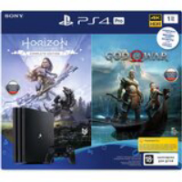 Игровая приставка SONY PlayStation 4 Pro 1Tb Black + God of War, Horizon Zero Dawn 33