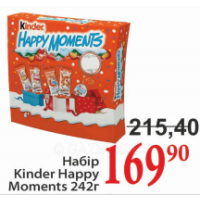 Набір Kinder Happy Moments 242r