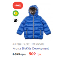 Куртка BluKids Development