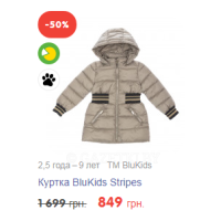 Куртка BluKids Stripes