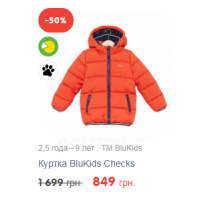 Куртка BluKids Checks